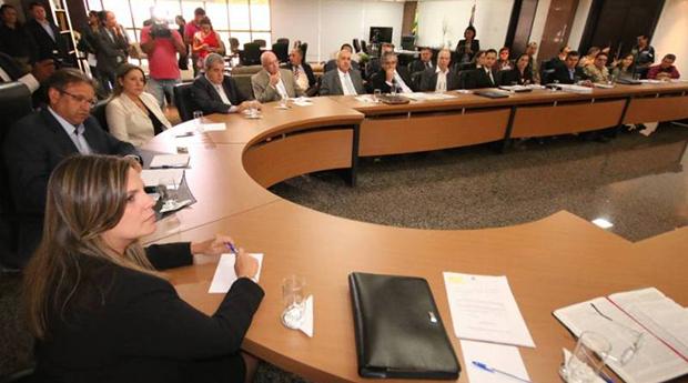 Em reunião do secretariado, foram apresentados os relatórios de cada área, que deverão traçar o futuro da administração estadual nos próximos anos | Foto: Márcio Vieira