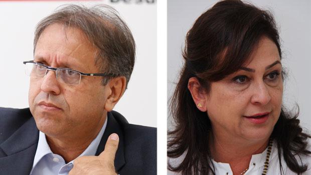 Kátia Abreu não teria ficado satisfeita com sua participação no governo do companheiro de partido Marcelo Miranda | Fotos: Fernando Leite / Jornal Opção