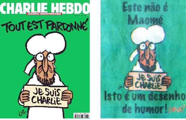 """O humor do """"Charlie"""" e o humor do brasileiro Chico Caruso: ninguém, nem mesmo políticas totalitárias, pode conter os artífices do riso"""