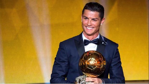 Cristiano Ronaldo vence a Bola de Ouro 2014 | Foto: reprodução/ Twitter