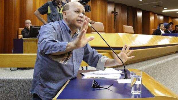 Djalma Araújo (SD) critica expulsão de Tayrone e Felisberto | Foto: Francisco Cardoso / Câmara