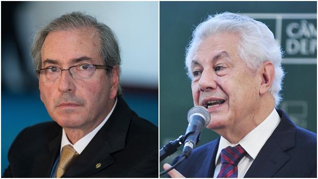 Eduardo Cunha (PMDB) e Arlindo Chinaglia (PT) disputam presidência da Câmara: Cunha é favorito dos goianos | Fotos: Fotos Públicas