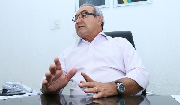 Jânio não nega que quer concorrer à reeleição | Fotos: Fernando Leite/ Jornal Opção