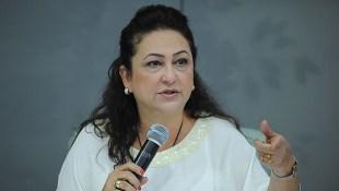 Ministra Kátia Abreu: choque aberto com petista Ananias   Foto: Elza Fiuza/Agência Brasil