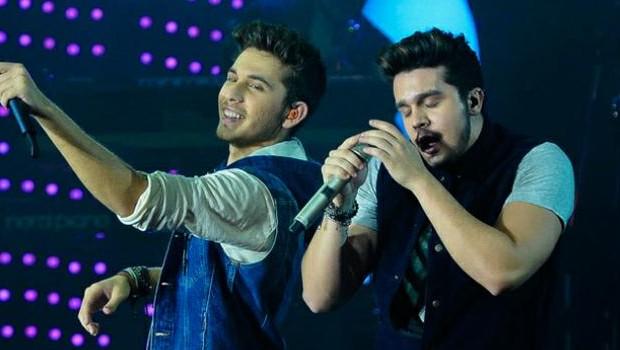 Luan Santana e Gustavo Mioto gravam música do grupo LS Jack