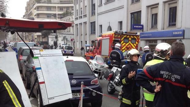 Goiana que mora ao lado do jornal que sofreu atentado terrorista diz que Paris está horrorizada