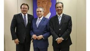 Friboi, Michel Temer e Pedro Chaves