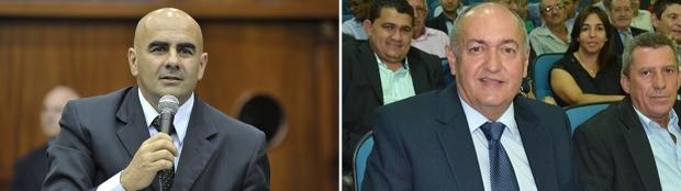 Paulo Cezar Martins (esquerda) poderá, de novo, disputar em Quirinópolis; Prefeito Odair Resende quer novo mandato na cidade | Fotos: Denise Xavier/Alego e Reprodução