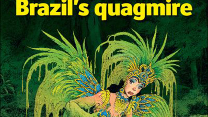 The Economist diz que culpado de o Brasil estar no atoleiro é o governo da presidente Dilma Rousseff