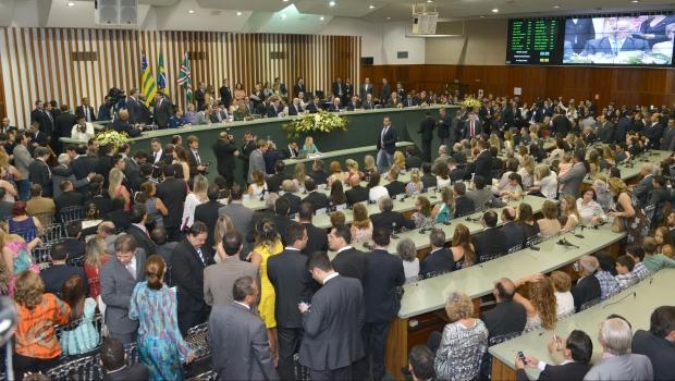 Sessão inaugural acontece nesta quinta-feira, porém os deputados eleitos só iniciam as atividades efetivamente na sessão ordinária da próxima terça-feira (24/2) | Foto: Carlos Costa
