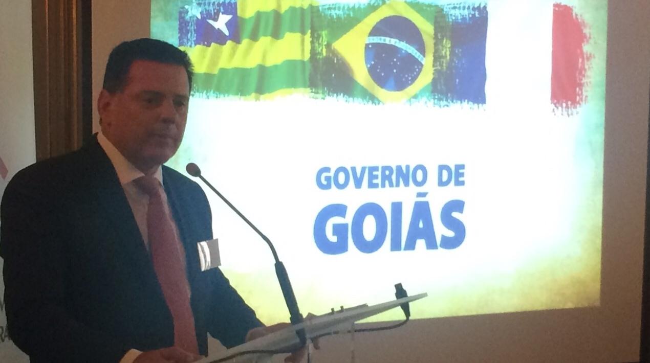 Marconi Perillo apresenta potencialidades de Goiás a empresários franceses