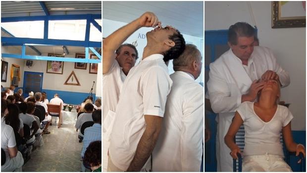 Momentos na Casa de Dom Inácio: curas dividem opinião | Fotos: Fernando Leite / Jornal Opção