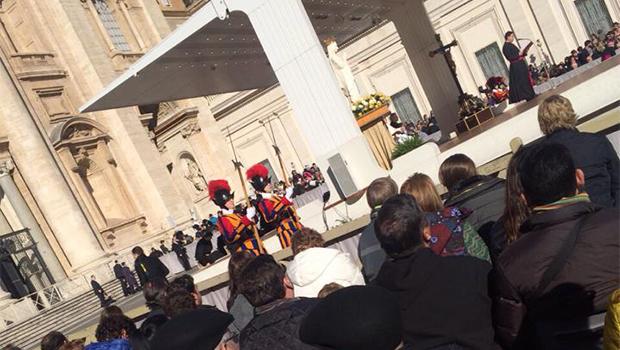 Em visita à Itália, Marconi participa de audiência celebrada por Papa Francisco