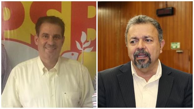 Vanderlan fica no PSB, garante Elias Vaz   Fotos: reprodução / Câmara Goiânia