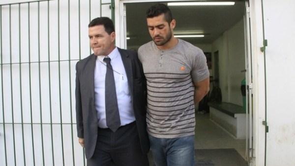 Yuri é detido após ser enquadrado na Lei Maria da Penha | Foto: reprodução / Ailton Cru / EGO