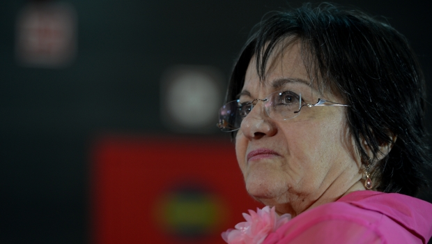 Na foto, Maria da Penha. Ela chegou a ficar internada por quatro meses devido a um tiro disparado pelo ex-marido, que a deixou paraplégica  Foto: Fabio Rodrigues Pozzebom/ Agência Brasil