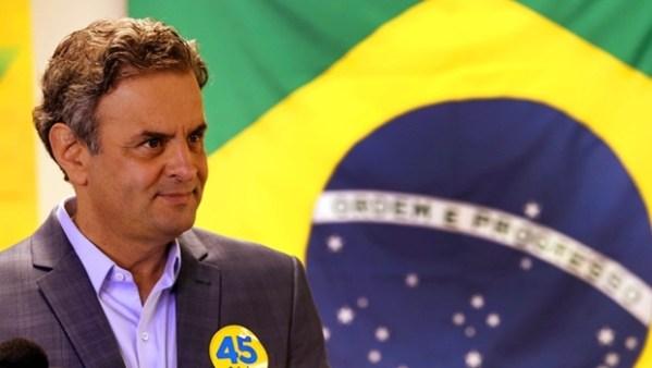 De acordo com a CNT/MDA, Aécio derrotaria Dilma caso as eleições fossem hoje   Foto: Foto: Marcos Fernandes/ Coligação Muda Brasil