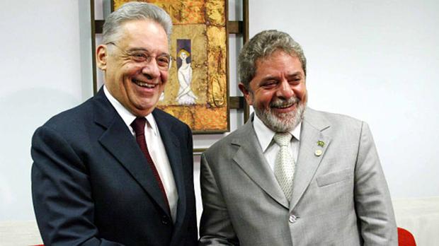 Lula, o sapo, e FHC, o príncipe: ambos expressões da mesma mágica | Foto: Ricardo Stuckert / PR