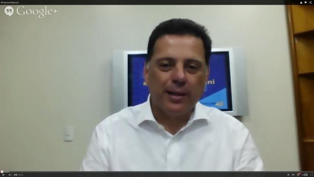 Governador retoma uso de ferramenta online para manter diálogo com a população | Foto: Reprodução