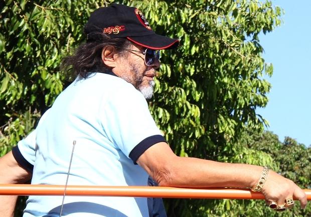 José Rico, em uma carreata no ano passado, quando concorreu à vaga na Câmara Federal em Goiás | Foto: Fernando Leite / Jornal Opção