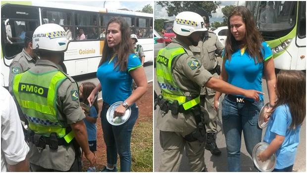 "Governador determina afastamento imediato de PM que ""confiscou"" panelas de manifestante"