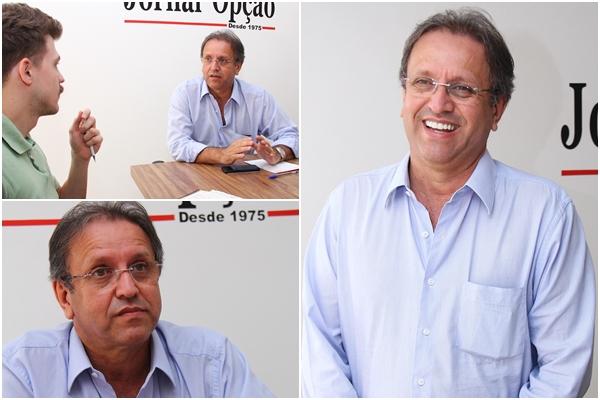Marcelo Miranda durante visita ao Jornal Opção: relação com Kátia Abreu está boa. Ministra deve ajudá-lo a tocar projeto importante para o Estado |Fotos: Jornal Opção