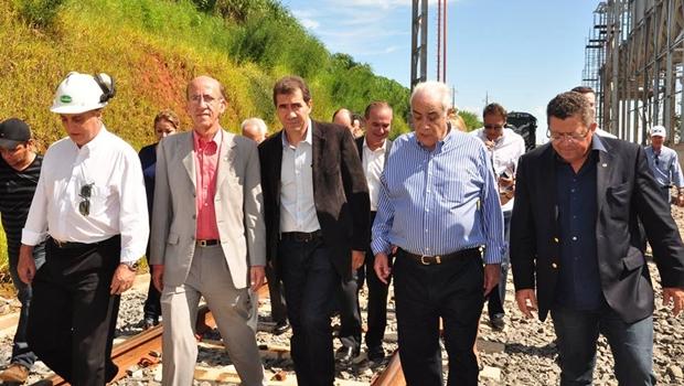 Ministro dos Transportes vai a Anápolis acompanhar ações para operação da Ferrovia Norte-Sul