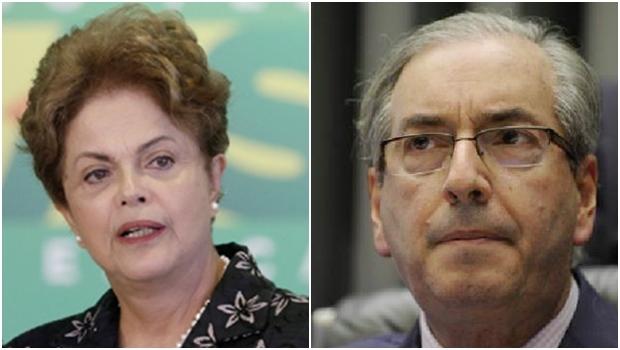 Aparentemente, Dilma Rousseff parece ter perdido ainda mais terreno na briga particular com Eduardo Cunha, com a demissão do ministro Cid Gomes; mas quem ficou exposto, de fato, foram a Câmara e seu presidente | Fotos: Eraldo Peres/AP e Agência Brasil