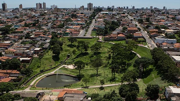 Os parques e praças têm sido o símbolo da política ambiental de Anápolis | Foto: Prefeitura de Anápolis