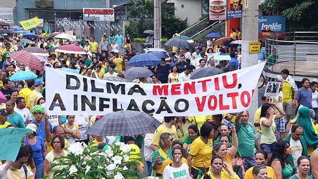 Protestos populares desestabilizam ainda mais o  governo Dilma: falta base política e capacidade gerencial | Foto: José Cruz/ Agência Brasil