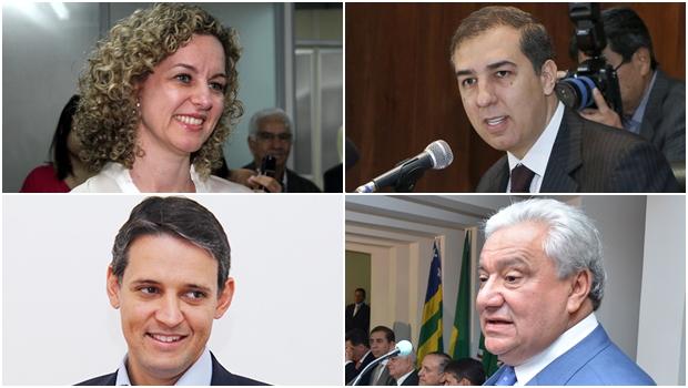 Os quatro secretários apontados como preferidos do governador Marconi Perillo