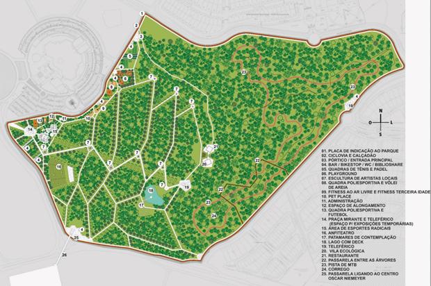 Projeto do Parque do Cerrado | Foto: Humberto Silva