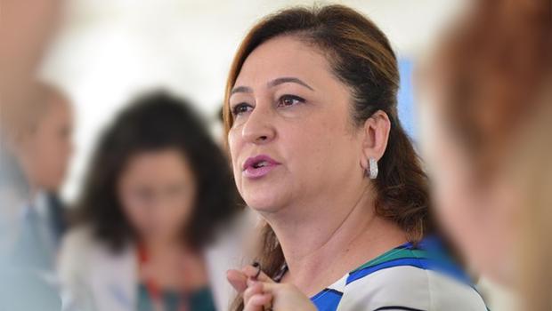 A ministra da Agricultura, Kátia Abreu, anuncia que o Matopiba será instituído na próxima semana   Foto: José Cruz / Agência Brasil