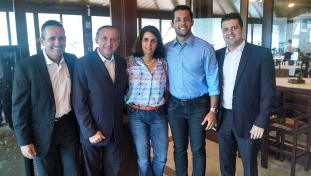 Vereadores tucanos Geovani Antônio, Anselmo Pereira, Dra. Cristina, Thiago Albernaz e Dr. Gian | Foto: divulgação