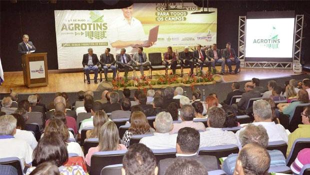 Lançamento da Agrotins aconteceu no Palácio Araguaia na terça-feira, 31, com boas estimativas | Foto: Foto: Tharson Lopes