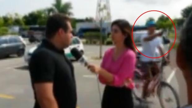Equipe de TV da Globo é assaltada em link ao vivo em Guarujá