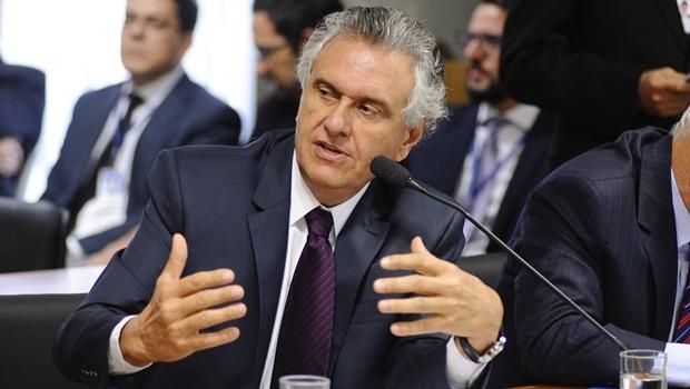 Senador Ronaldo Caiado (DEM) reclama de convites a aliados   Foto: Pedro França / Agência Senado