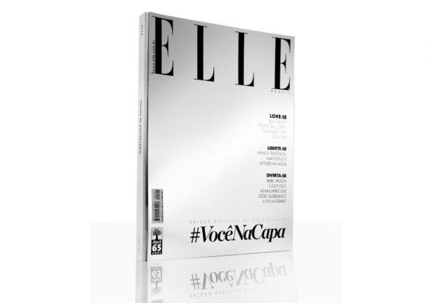 Capa comemorativa da Elle Brasil | Divulgação