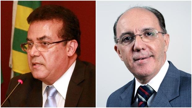 Presidente da OAB-GO, Enil Henrique e o advogado Felicíssimo Sena   Fotos: Leoiran / OAB
