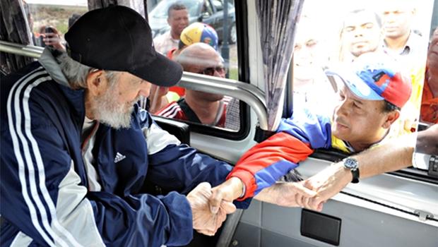 Aparição de Fidel acontece uma semana antes do encontro entre Raúl Castro e Barack Obama na Cúpula das Américas | Foto: Estudios Revolucion/ Cubadebate