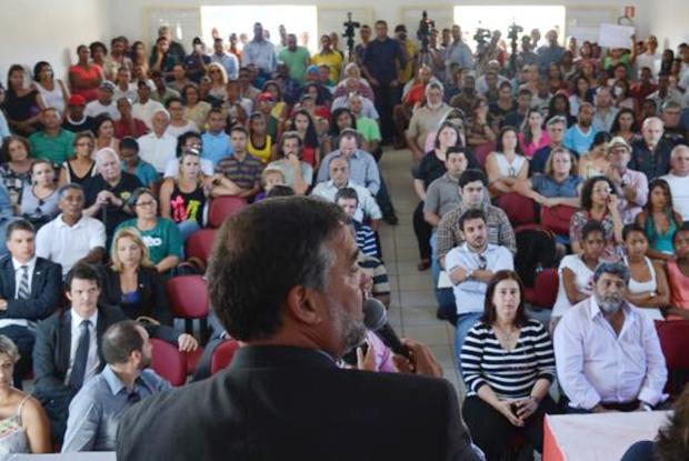 Audiência pública em Cavalcante (GO) debate situação de meninas kalunga | Foto: Marcello Casal Jr/Agência Brasil