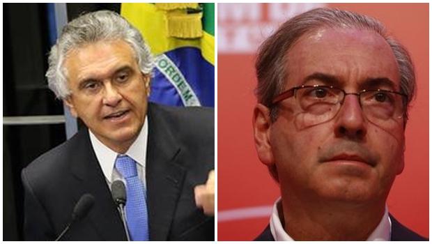 """Ronaldo Caiado alfineta Eduardo Cunha sobre envolvimento de Dilma no """"Petrolão"""""""
