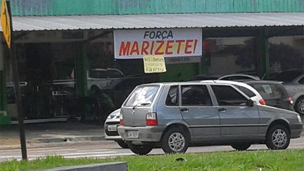 Fachada da pamonharia onde Marizete trabalhava, no Setor Jardim América | Foto: Amanda Damasceno/Jornal Opção