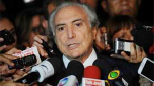 Michel Temer foi convidado para falar sobre sistemas eleitorais e financiamento de campanha |Foto: Fabio Rodrigues Pozzebom/Agência Brasil