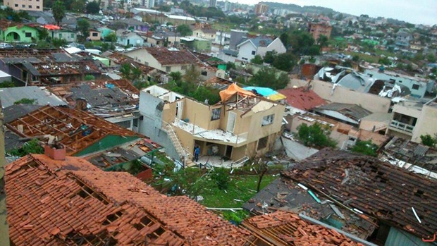 Foto: Defesa Civil/ Santa Catarina