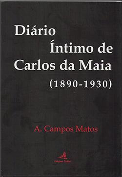 2 - 2014-CAPA DE DIARIO INTIMO DE CARLOS DA MAIA (1890-1930)