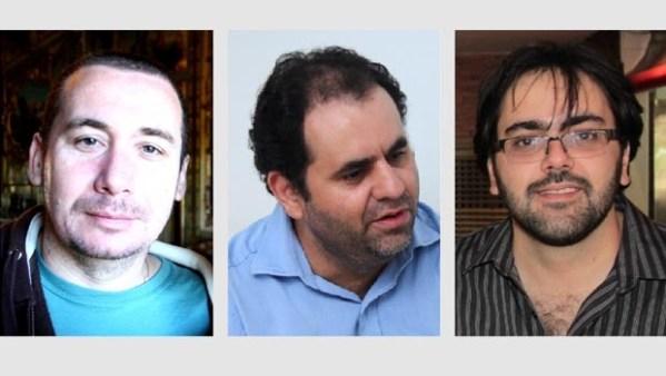 Ojornalista Carlos Willian Leite, o especialista em TIHélio Torres e o dono de agência digital André de Moraes põem os números divulgados em xeque