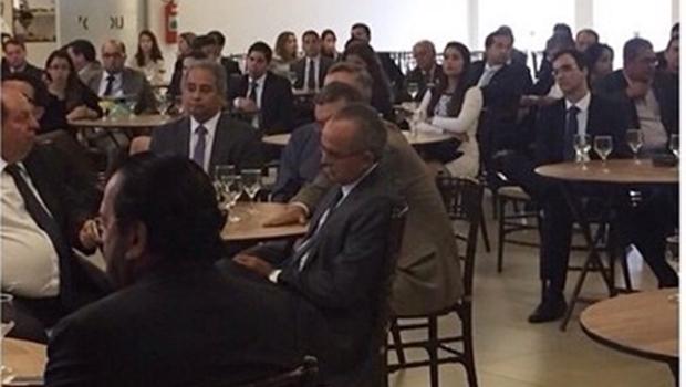 Reunião organizada por Flávio Buonaduce e Pedro Paulo Medeiros gera mal-estar na OAB-GO
