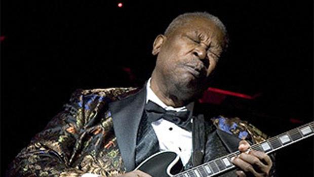 B. B. King era o Louis Armstrong do blues, um verdadeiro rei, com súditos como Eric Clapton