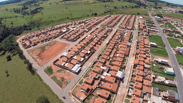 No Residencial Prado, mais 350 casas populares para famílias de baixa renda |Foto: Prefeitura de Senador Canedo
